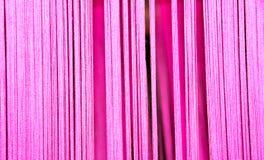 Fil rose mou de coton pour le fond abstrait Image libre de droits