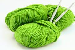 Fil à tricoter Photographie stock libre de droits