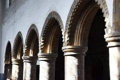 Fila de arcos Imagenes de archivo
