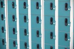 Fila de armarios foto de archivo libre de regalías