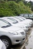 Fila de coches Imagen de archivo libre de regalías