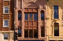 Fila de edificios Imagenes de archivo