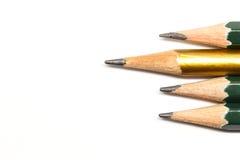 Fila de lápices Foto de archivo libre de regalías