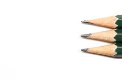 Fila de lápices Imagen de archivo libre de regalías