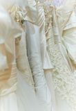 Fila de la ropa de la boda Fotografía de archivo libre de regalías