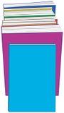 Fila de libros stock de ilustración