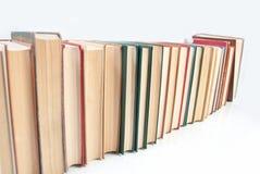 Fila de libros Fotos de archivo libres de regalías