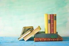 Fila de libros Imagen de archivo libre de regalías