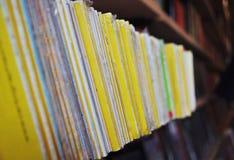 Fila de los libros Imagen de archivo