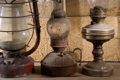 Fila de oile-estufas Imágenes de archivo libres de regalías