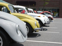 Fila de Volkswagen foto de archivo libre de regalías