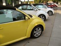 Fila de Volkswagen Fotos de archivo