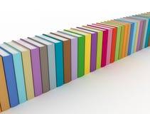Fila dei libri variopinti royalty illustrazione gratis