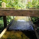 Fila del agua Imágenes de archivo libres de regalías