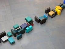 Fila del equipaje Imagen de archivo libre de regalías