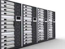 Fila del servidor stock de ilustración