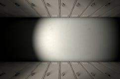 Fila dell'armadio della scuola nuova Fotografie Stock Libere da Diritti