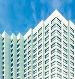 Fila della sistemazione di hotel la periferia Immagini Stock Libere da Diritti