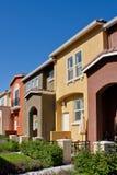 Fila delle case a schiera Immagine Stock Libera da Diritti