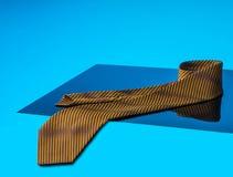 Fila delle cravatte raccolta, modello, elegante accessorio degli uomini, modo Fotografie Stock