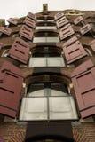 Fila delle finestre Immagine Stock
