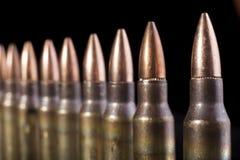 Fila delle pallottole Fotografia Stock Libera da Diritti