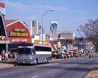 Fila di musica, Nashville fotografia stock libera da diritti