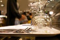 Fila do restaurante Imagens de Stock Royalty Free