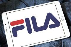 Fila logo Fotografia Stock