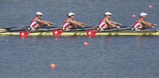 FILA: Los campeonatos europeos del rowing Imagenes de archivo