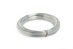 Fila o alambre de metal. Imagenes de archivo