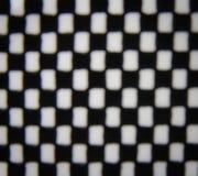 Fila scura del reticolato della sfuocatura Immagine Stock