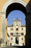 Filacciano在意大利 免版税库存照片