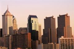 Filadelfia linia horyzontu Obrazy Stock
