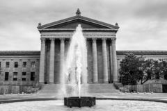 Filadelfia muzeum sztuki obrazy stock