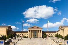 Filadelfia muzeum sztuki fotografia stock