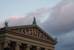Filadelfia muzeum sztuki zdjęcia stock