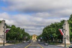 Filadelfia muzeum sztuki obrazy royalty free