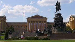 Filadelfia muzeum sztuki George Washington zabytku panorama 4k usa zbiory