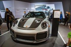 FILADELFIA, PA - Feb 3: Porsche przy 2018 Filadelfia Auto przedstawieniem Obrazy Royalty Free