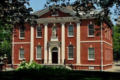 Filadelfia, PA: Franklin Institute Budować zdjęcie royalty free