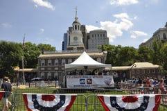 Filadelfia, PA, il 3 luglio: Celebrazione della città di Filadelfia in Pensilvania U.S.A. Immagine Stock Libera da Diritti