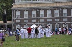 Filadelfia, PA, il 3 luglio: Celebrazione della città di Filadelfia in Pensilvania U.S.A. Immagini Stock Libere da Diritti