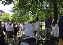 Filadelfia, PA, il 3 luglio: Celebrazione della città di Filadelfia in Pensilvania U.S.A. Fotografie Stock Libere da Diritti