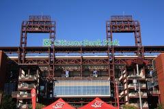 Filadelfia Phillies - Mieszkanów Banka Park obrazy royalty free