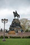 FILADELFIA, U.S.A. - 12 GIUGNO 2013: Monumento di George Washington in Filadelfia La statua progettata nel 1897 da Rudolf Immagine Stock
