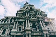 Filadelfia urzędu miasta szczegóły obrazy stock