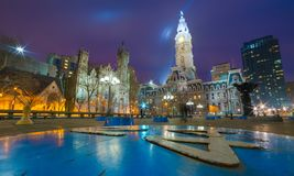 Filadelfia, usa Fotografia Stock