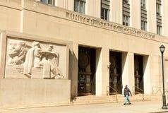 Filadelfia, usa - Maj 29, 2018: Zlany stanu gmach sądu w Phi zdjęcia stock