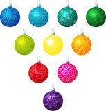 Filagree Baubles Stock Images
